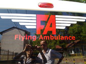 Flaying Ambulance
